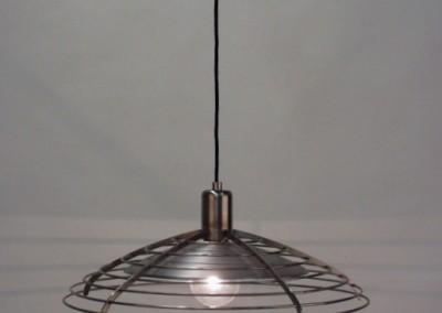 handgefertigte Hängeleuchte Genf in Niro, Leuchte,Dm. 500 mm, Pendelleuchte, Nr. 82843