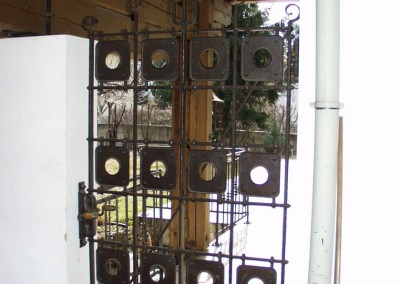 Gittertor - Eisengatter für Garteneingang