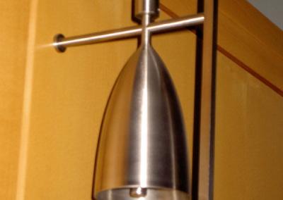 Edelstahl Glockenstuhl, Kircheneinrichtung