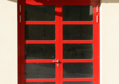 Alu-Brandschutztür