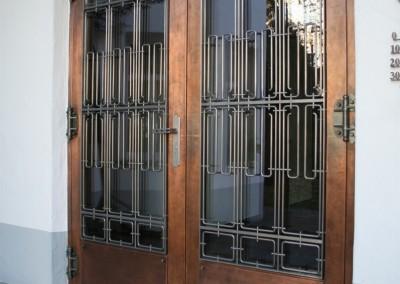 aufwendige Kupfertüre