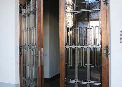 aufwendig Kupfertüre
