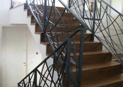 Platzsparende treppenlösungen