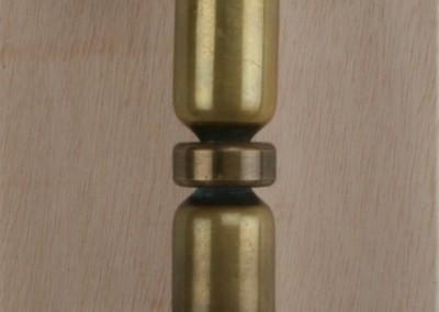 Tuerzieher in Bronze, schmiedet