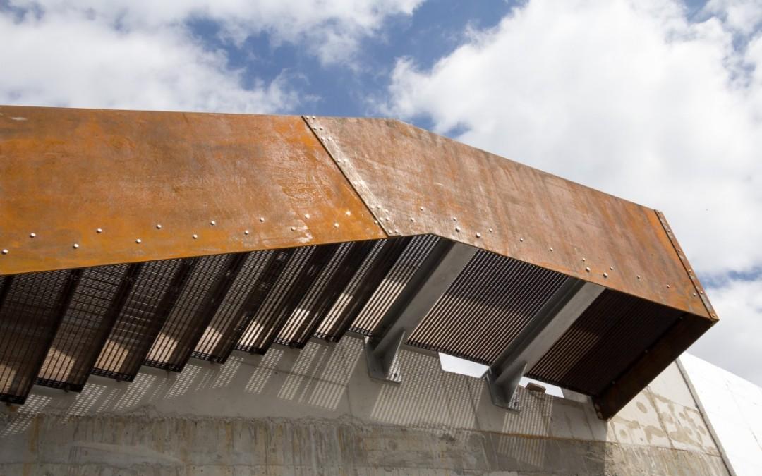 Cortenstahl – Stiegenkonstruktion
