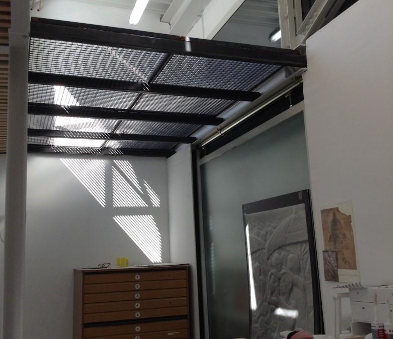 Zwischenboden-Stahlkonstruktion