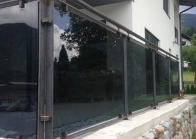 Glasgeländer Terrasse