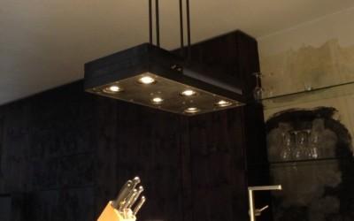 Kochinselbeleuchtung mit Led, Eisen/roh