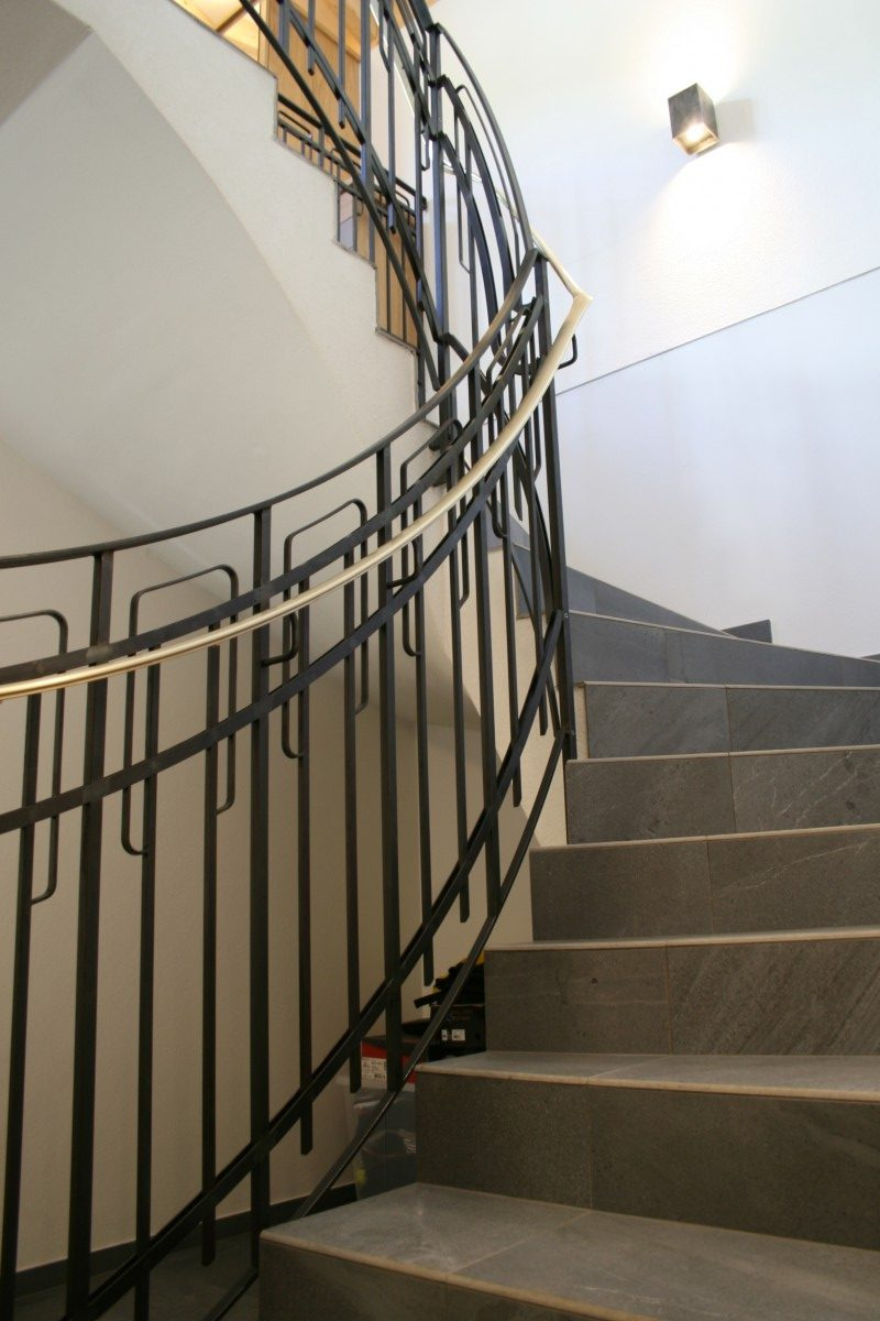 Gelander Und Treppen Innenbereich Modern Bruckner Metall