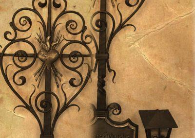 Grabkreuz restauriert